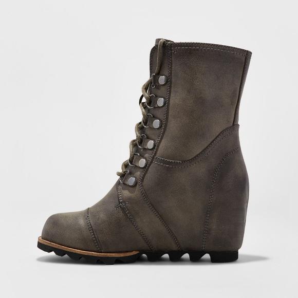d462ae04d1a Merona Women s Marisol Lace Up Wedge Boots. M 5b06f25a077b974d8838c06a